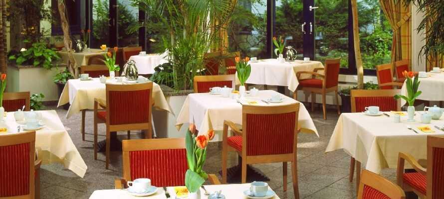 Das Restaurant serviert Gerichte, die stets kreativ und frisch mit saisonalen Zutaten zubereitet werden.