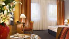 Standard Doppelzimmer - die  Zimmer sind alle mit einem eigenen Bad/WC, TV und einer Minibar eingerichtet.