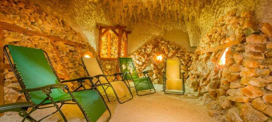 Sie können wunderbar relaxen im Hotel Krol Plaza Spa.