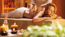 I har også mulighed for at bestille en omgang massage