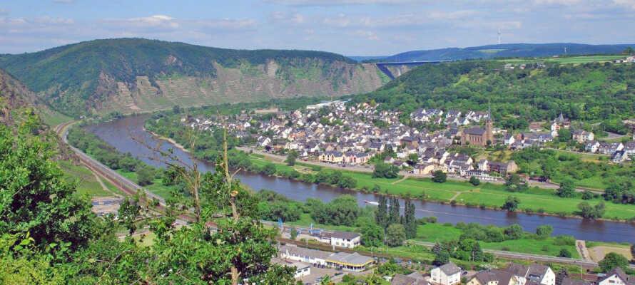 Dieblich er et smukt og indbydende vinområde, der ligger i det bakkede og grønne område ved Mosel.