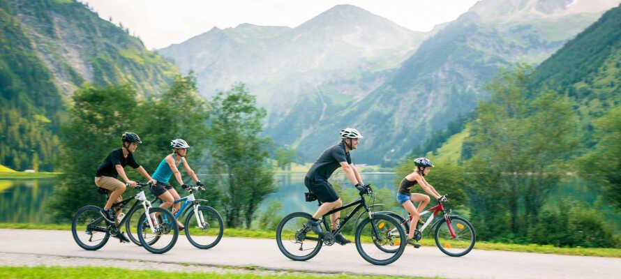 Ta med hele familien på en fantastisk ferie med mange aktiviteter i Salzburgerland.