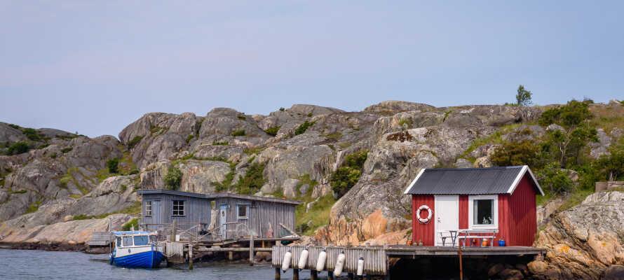 Tag på en herlig udflugt ud og oplev Göteborgs smukke skærgård.