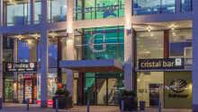 First Hotel G erbjuder en bekväm bas med ett fantastiskt läge ovanpå Göteborgs Centralstation.