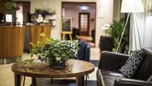 Alle rommene er minst 25 m² store og tilbyr god komfort under oppholdet.