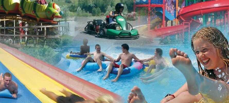 Nehmen Sie die Kinder mit ins Tosselilla Sommarland mit und verbringen Sie einen Tag voller Spaß, Geschwindigkeit und tollen Erlebnissen.