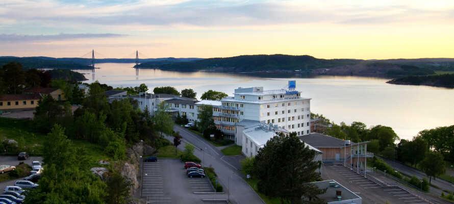 Førsteklasses spa-hotell i Uddevalla med fantastisk utsikt over Byfjorden