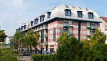 Det 4-stjernede Seehotel Friedrichshafen tæt på søen og strandpromenaden