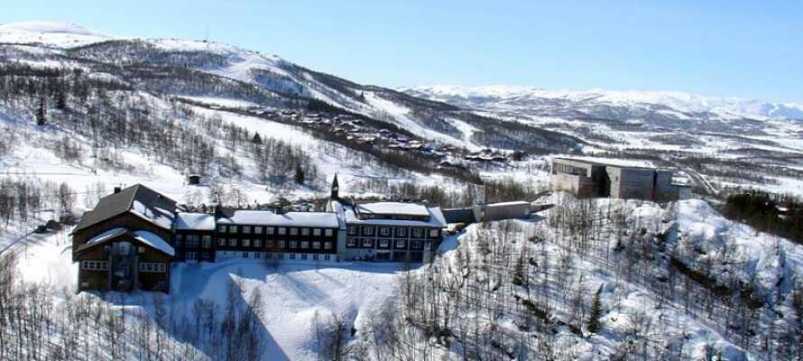 Velkommen til Skinnarbu Nasjonalparkhotell, som ligger i naturskønne omgivelser i Norge.