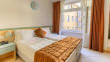 De flotte værelser er lyse og venligt indrettet.