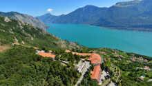 Fra Hotel Le Balze har I en betagende udsigt over Gardasøen