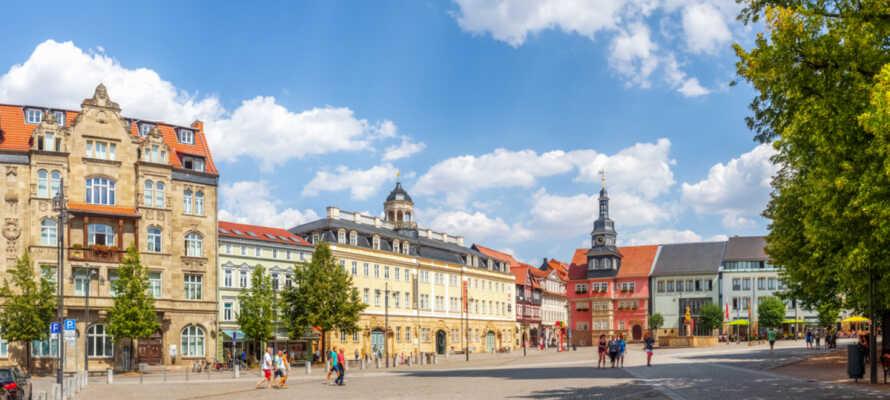 Utforsk Eisenach, et av Thüringens  kulturelle høydepunkter.
