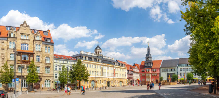 Entdecken Sie Eisenach, eines der kulturellen Highlights Thüringens.