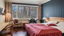 Hotellet tilbyr pene rom i flere forskjellige kategorier