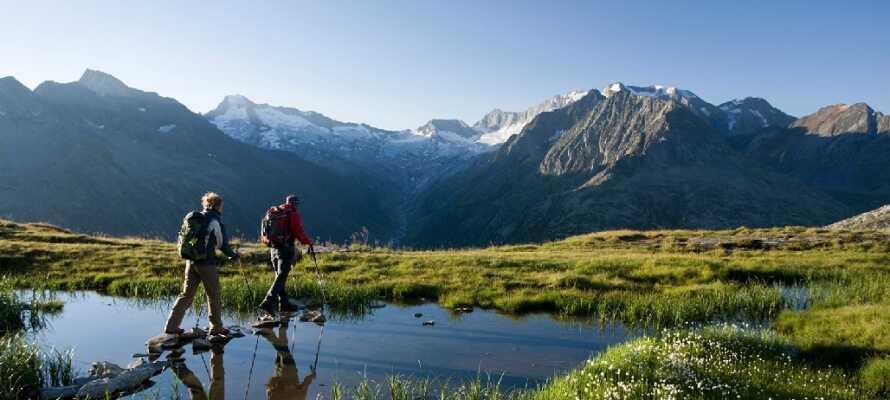 Willst du wandern, Tirol ist der richtige Ort, mit all der schönen Landschaft