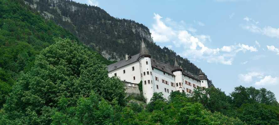 Schloss Tratzberg er imponerende både inne og utenfra. Absolutt verdt et besøk.