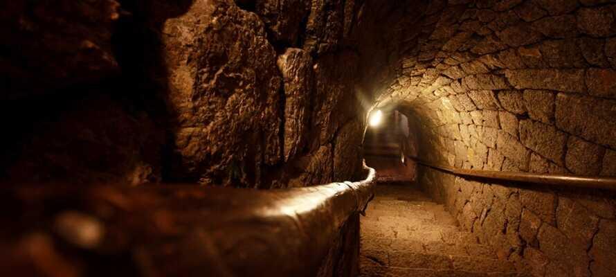 In der Stadt Schwas können Sie eine 500 Jahre alte Mine besuchen