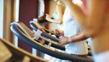 Hotellet har ett eget gym