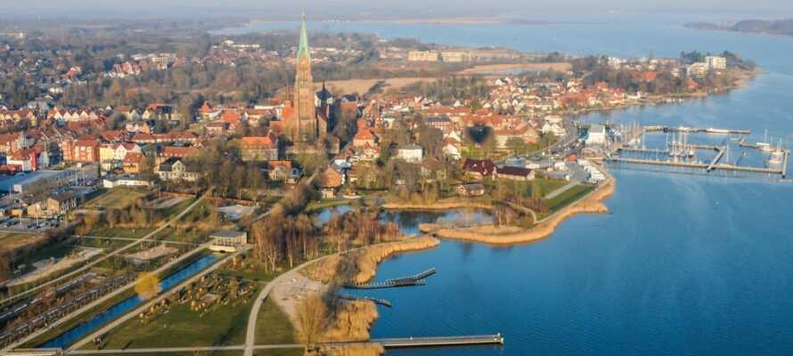 Schleswig bietet viele spannende Ausflüge.