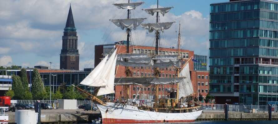 Opplev havnebyen Kiel, og alt den har å by på.