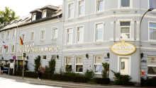 Hotel Hohenzollern ligger fint beläget i staden Schleswig.