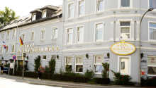 Hotel Hohenzollern ligger skønt i den landlige by Slesvig