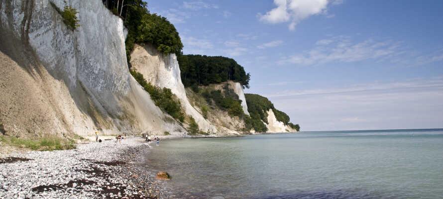Overalt langs kysten på Rügen finner dere vakre naturomgivelser og imponerende utsiktspunkter.