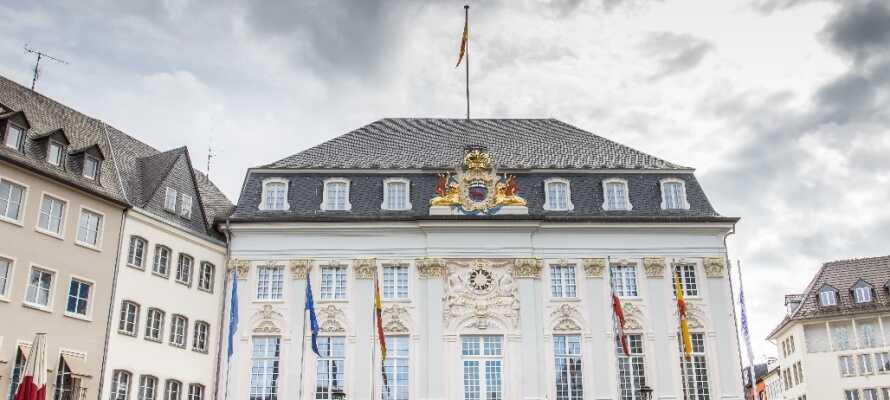 I Bonn er det muligt at besøge kunst galleriet, Historisk Museum eller tage en tur til Beethovens barndomshjem.