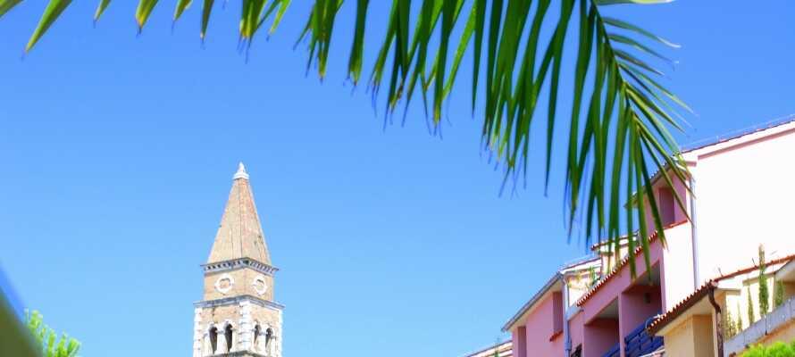 Portoroz ist ein kleines gemütliches Feriendorf, das viel Kultur und Natur bietet.