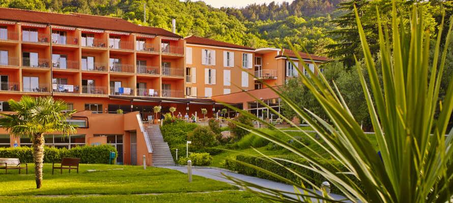 Unna dig en avkopplande semester i natursköna omgivningar nära skog, strand och staden Piran.
