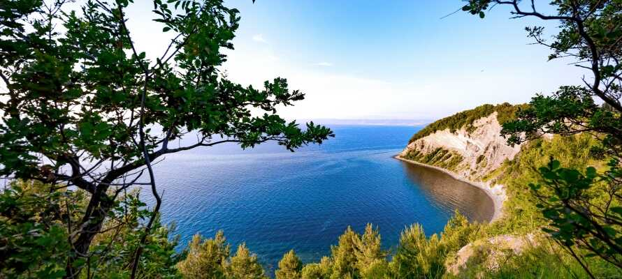 Moon Bay räknas som en av de vackraste stränderna i Slovenien!