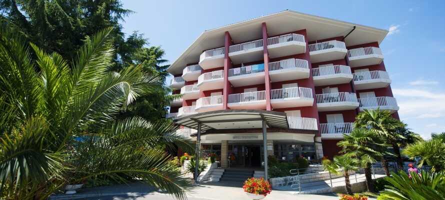 Hotel Haliaetum og Hotel Mirta tilbyder en afslappende ferie i et flot og interessant område.