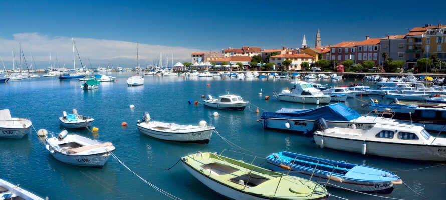 Izola är en medeltida stad med gamla traditioner av fiske och vin.