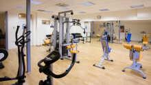 Få upp pulsen och håll igång under semester i hotellets gym.
