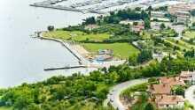 San Simon Resort har en skjønn plassering ved den slovenske kysten