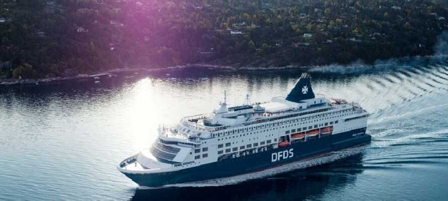 Res genom den vackra norska naturen på vägen till Oslo