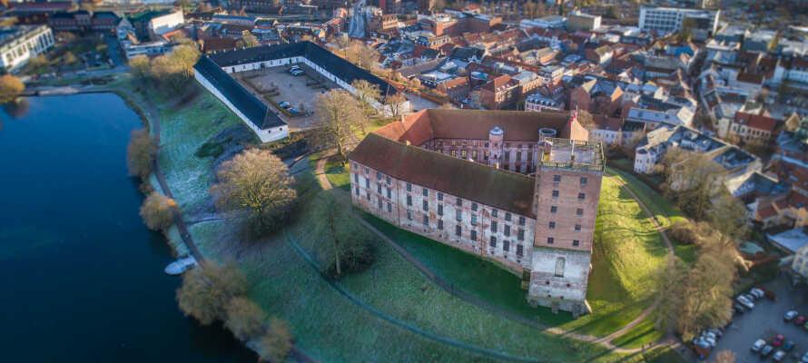 Es gibt viele Ausflugsmöglichkeiten: Koldinghus ist eine der beliebtesten Sehenswürdigkeiten.