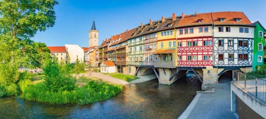 Besøg Thüringens hovedstadsby, Erfurt, som har rødder helt tilbage til 700-tallet!