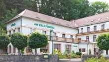 Hotel am Kellerberg ligger i smukke grønne omgivelser i Thüringen.