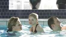 Schwimmen im Hotelpool zu jeder Jahreszeit