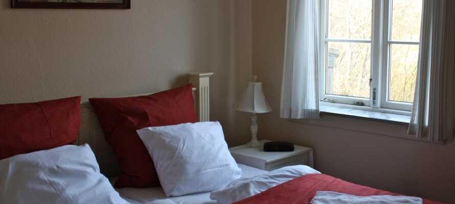 Få en god natts sömn efter en dag fylld av upplevelser på Sønderjylland.
