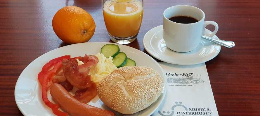 En god morgenmad giver den rigtige start på dagen - oplevelserne i Sønderjylland venter forude.
