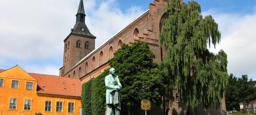 Med den hyggelige base på Nordfyn har I alletiders udgangspunkt for at tage på udflugt til H.C. Andersens eventyrby, Odense.