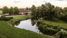 Die wunderschöne Umgebung von Middelfart, die Fünen und Jütland trennt.