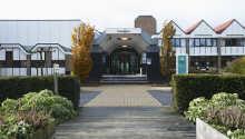 Indgang til Postilion Hotel Amersfoort