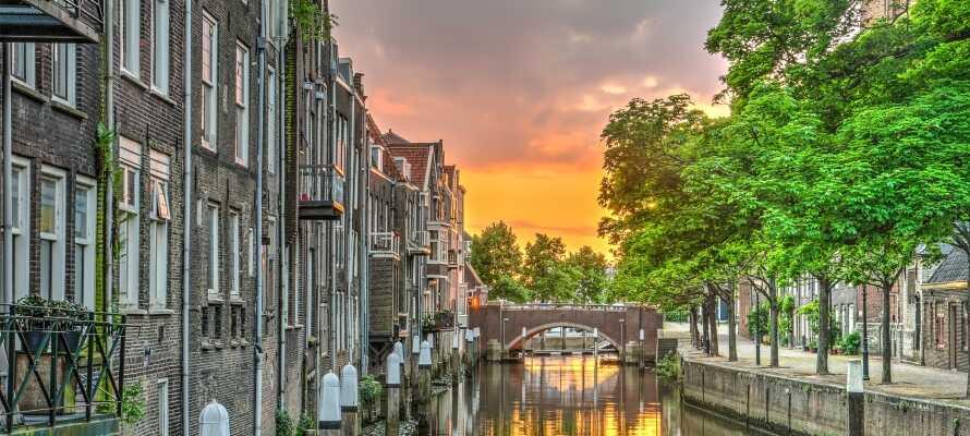 Dordrecht er en sjarmerende by med mye å by på