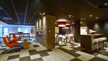 Hotellet präglas rakt igenom av moderna och eleganta faciliteter.