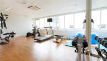 I har mulighed for at benytte de moderne fitnessfaciliteter på hotellet