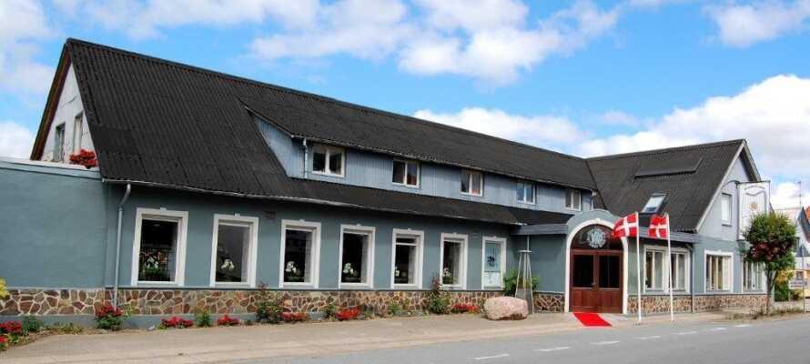 Velkommen til Suldrup Kro, som emmer af god stemning og hygge!
