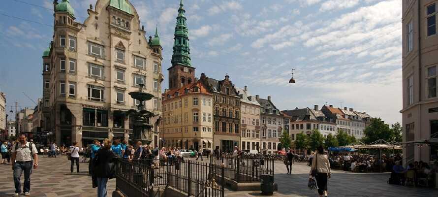Besuchen Sie die berühmte Einkaufsstraße und genießen Sie die große Menge an Geschäften und schöner Lebensart.